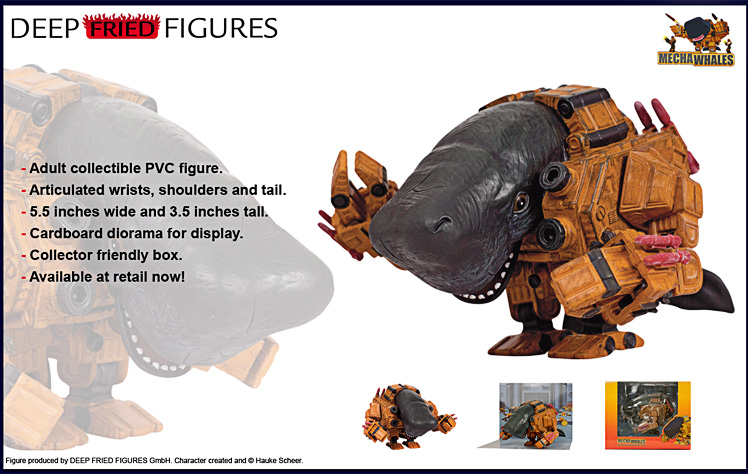 Mechawhale Adult Collectible Figure